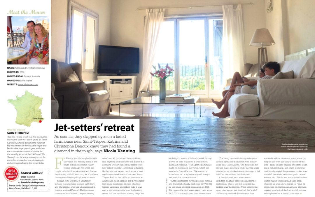 French Entrée Magazine reveals their favourite Jetsetter's Retreat