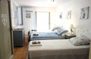 Bedroom 5 Saint Tropez holiday rental villa Provence France