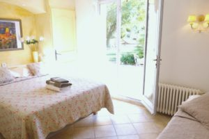 Bedroom 3 Saint Tropez holiday rental villa Provence France