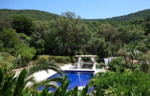 Pool Saint Tropez holiday rental villa Provence France