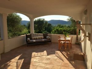Bedrooms 5 & 6 Terrace views Provence Saint Tropez holiday rental villa