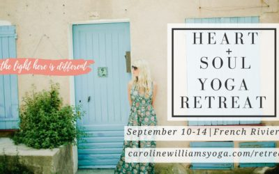 Heart + Soul Yoga Retreat France, Sept 10-14