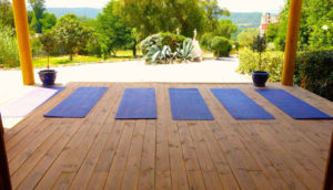 Yoga Pilates Fitness Retreat rental Provence Saint Tropez France