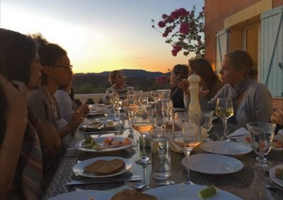 Sunset Retreat Dinner