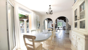 Dining Room Provence Saint Tropez holiday rental villa