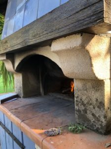 Outdoor Pizza Oven Provence Saint Tropez holiday rental villa