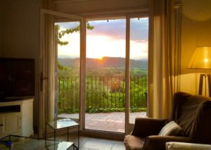 Provence vineyard views Saint Tropez holiday rental villa